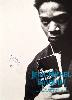 Vrej Baghoomian  photo of Basquiat 1988 Limited Edition Print - Jean Michel Basquiat