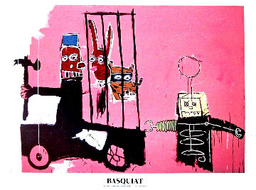 Foundation Beyerler Molasses Poster 2010 Limited Edition Print - Jean Michel Basquiat