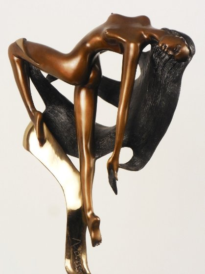 Evolution Bronze Sculpture 1986 19 in