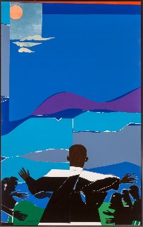 Mountaintop With Martin Luther King Jr. Limited Edition Print - Romare Bearden
