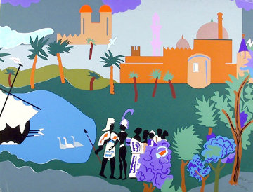 Odysseus Leaves 1979 Limited Edition Print - Romare Bearden