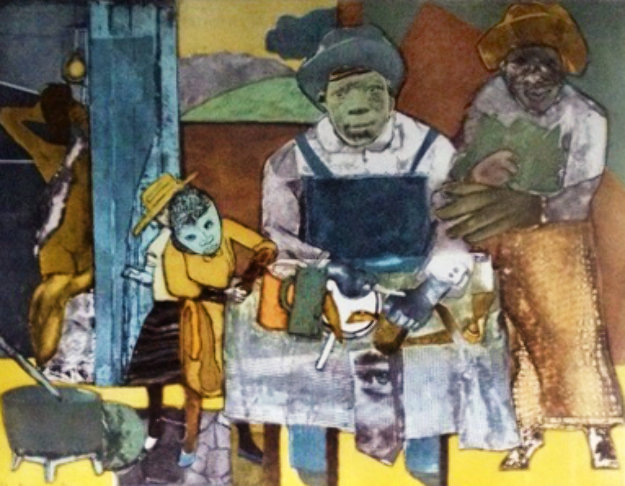 romare bearden the family Romare bearden is considered america's premier collagist, and, in terms of   own memory of family but to the collective memory of african american family life.