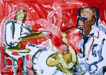 Out Chorus (Rhythm Section) 1979 Limited Edition Print - Romare Bearden