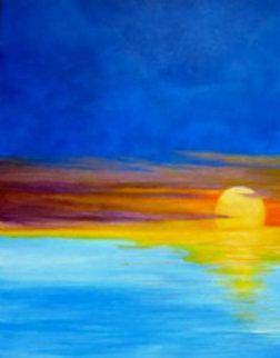 Caribbean Sunset AP Limited Edition Print - Palyn Beaulieu