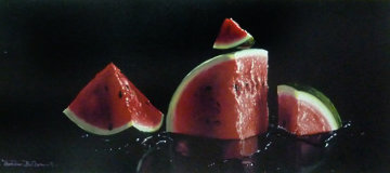 Watermelon Ap 2004 Embellished Limited Edition Print - Charles Becker