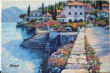 Stairway to Carlotta 2010 Embellished Limited Edition Print - Howard Behrens