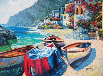 Memories of Capri 2010 Embellished Limited Edition Print - Howard Behrens