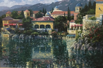 Reflections of Italy 2005 Embellished Limited Edition Print - Howard Behrens