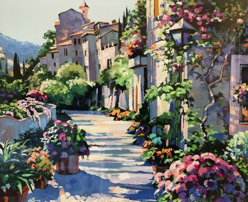 Burgundy 1992 Limited Edition Print - Howard Behrens
