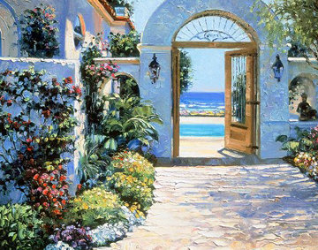 Hotel California 1995 Limited Edition Print - Howard Behrens