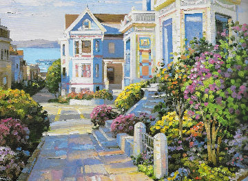 California Views Suite of 2 Serigraphs 1994 Limited Edition Print - Howard Behrens