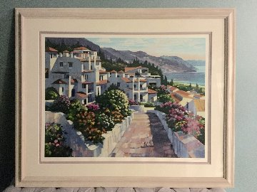 Mijas Greece 1990 Limited Edition Print - Howard Behrens