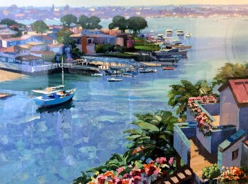 Balboa Point 1990 Limited Edition Print - Howard Behrens