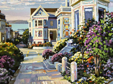 Grove Street 1994 Limited Edition Print - Howard Behrens