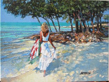 My Beloved 2010 Embellished Limited Edition Print - Howard Behrens