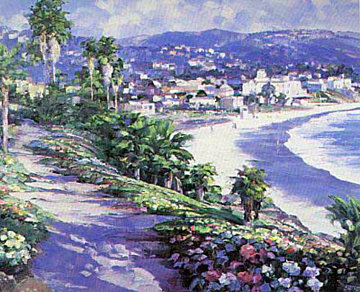 Laguna Beach 1989 Limited Edition Print - Howard Behrens