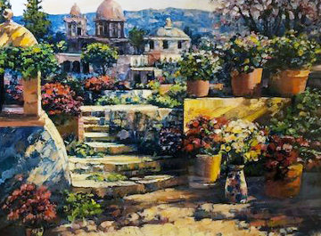 Domes of Mexico 2000 Limited Edition Print - Howard Behrens
