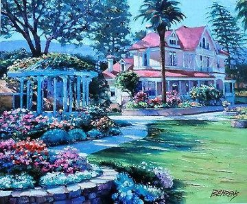 Napa Valley 1990 Limited Edition Print - Howard Behrens