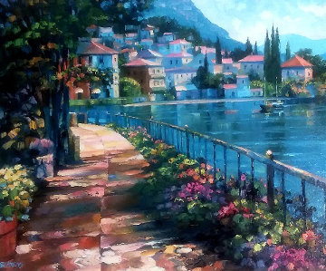 Sunlit Stroll 2000 Limited Edition Print - Howard Behrens