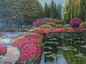 Colors of Giverny 2006 Embellished Limited Edition Print - Howard Behrens