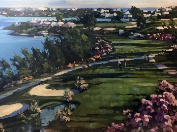18th Fairway At Castle Harbor 1991 Limited Edition Print - Howard Behrens