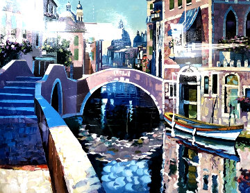 Reflections of Venice Limited Edition Print - Howard Behrens