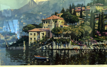 Villa Balbianello Limited Edition Print - Howard Behrens