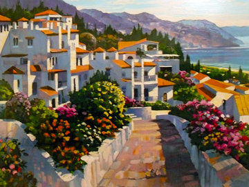 Mijas Limited Edition Print - Howard Behrens