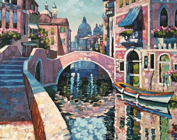 Reflections of Venice 1996 AP Limited Edition Print - Howard Behrens