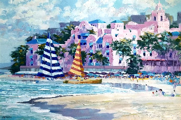 Royal Hawaiian 1989 Limited Edition Print - Howard Behrens