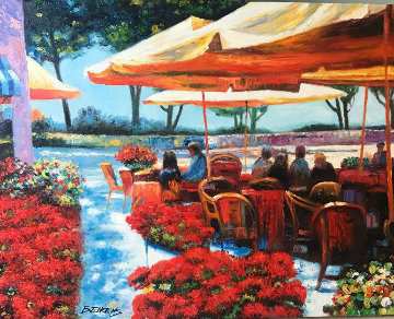 Remembering Ravello Original Painting - Howard Behrens