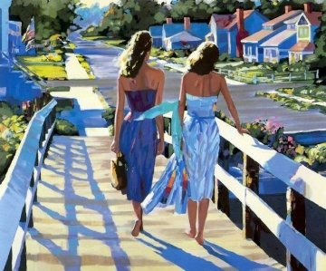 Bethany Beach 1987 Limited Edition Print - Howard Behrens
