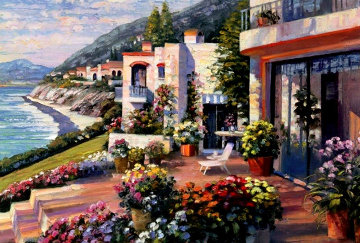 Pacific Patio 1996 Limited Edition Print - Howard Behrens