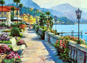 Belligao Promenade 1991 Limited Edition Print - Howard Behrens