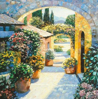 Shadows Over Eze AP 2003 Limited Edition Print - Howard Behrens