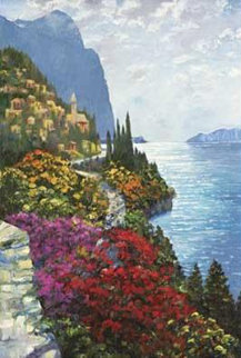 As the Sun Sets Amalfi AP Limited Edition Print - Howard Behrens