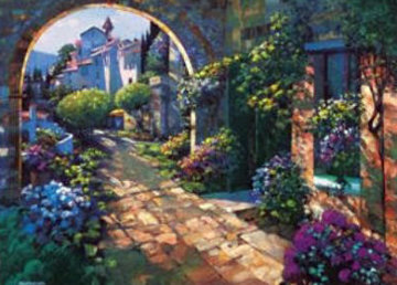 Villa Cipriani TP (Italy) 2004 Limited Edition Print - Howard Behrens