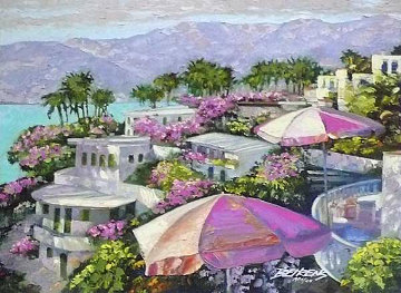 Acapulco Memories, Mexico 2008 Embellished Limited Edition Print - Howard Behrens