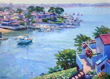 Balboa Point AP, San Diego 1995 Limited Edition Print - Howard Behrens