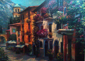 Village Hideaway 2000 Limited Edition Print by Howard Behrens