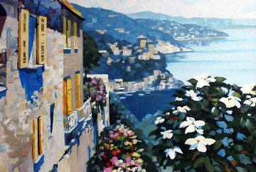 Mediterranean View 1990 Limited Edition Print - Howard Behrens