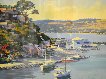Sausalito, California 1989 Limited Edition Print - Howard Behrens