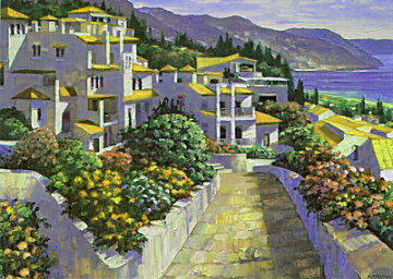Mijas, Greece 1994 Limited Edition Print - Howard Behrens