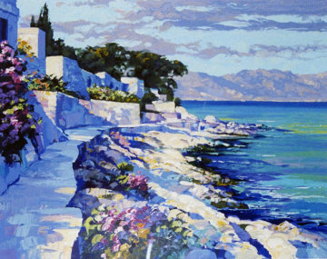 Cap Ferrat, France 1990 Limited Edition Print by Howard Behrens