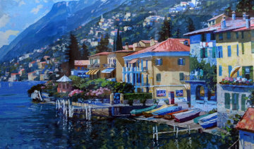 Lugano, Italy 1991 Limited Edition Print - Howard Behrens