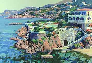Cap Roux AP 1990 Limited Edition Print - Howard Behrens