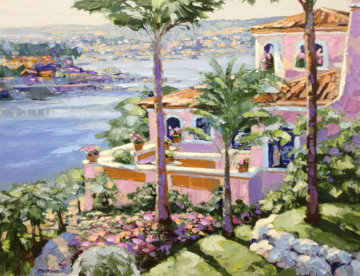 Newport Beach from the California Suite - 1989 Limited Edition Print - Howard Behrens