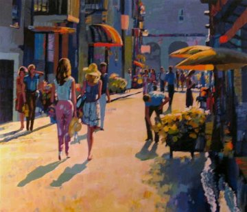 Naphlio Light 1986 Nafplio Greece Limited Edition Print - Howard Behrens