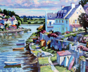 French Suite of 2 Prints AP 1990 Limited Edition Print - Howard Behrens