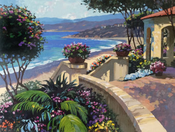 Promenade to the Sea 1995 Limited Edition Print - Howard Behrens